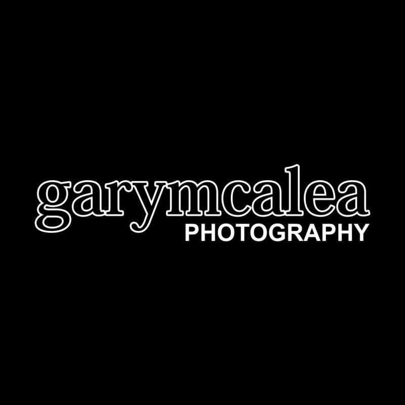Gary Mc Alea Photography - White Outline Logo Men's T-Shirt by Gary Mc Alea Photography's Artist Shop