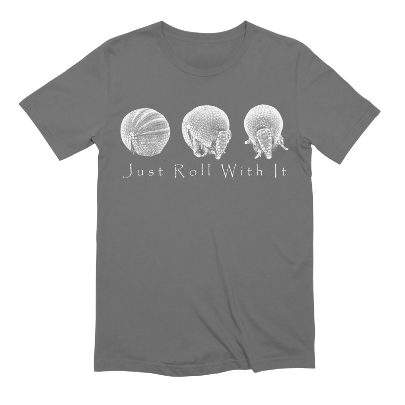 Armadillos Just Roll With It Men's T-Shirt by Gary Mc Alea Photography's Artist Shop