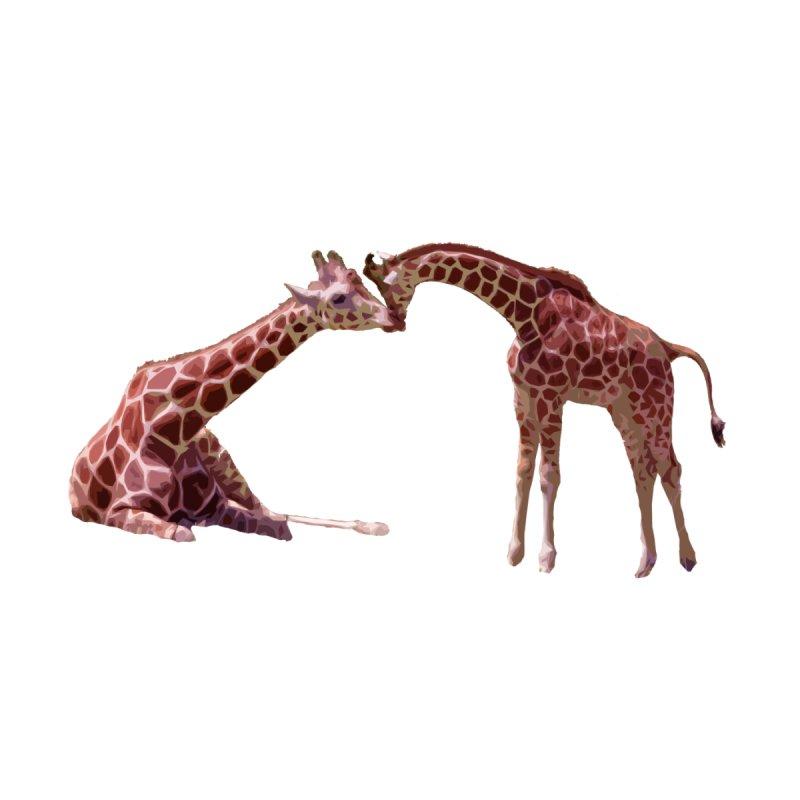 Giraffe Love Accessories Notebook by Gary Mc Alea Photography's Artist Shop