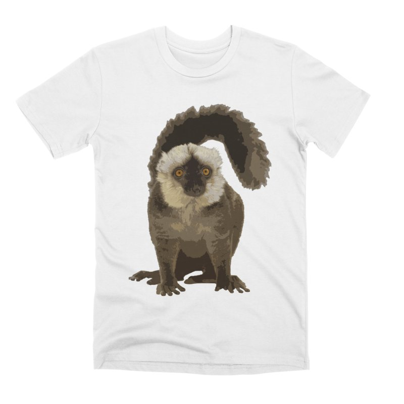 Lemur Men's T-Shirt by Gary Mc Alea Photography's Artist Shop