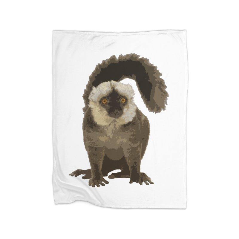 Lemur Home Blanket by Gary Mc Alea Photography's Artist Shop
