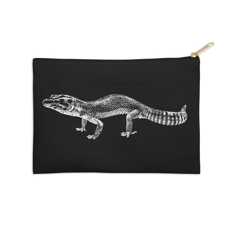 Big Is Beautiful – Fat-tailed Gecko Accessories Zip Pouch by Gary Mc Alea Photography's Artist Shop