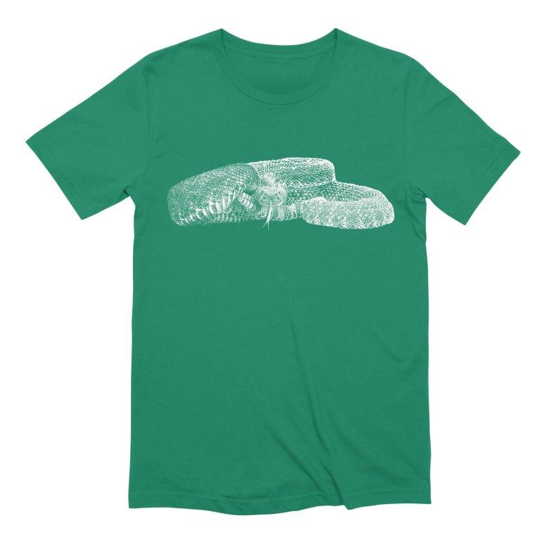 Western Diamondback Rattlesnake Men's T-Shirt by Gary Mc Alea Photography's Artist Shop