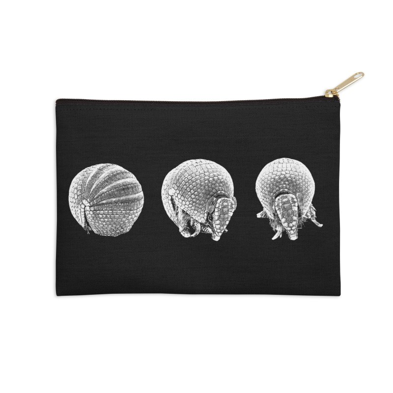 'Dillos Accessories Zip Pouch by Gary Mc Alea Photography's Artist Shop