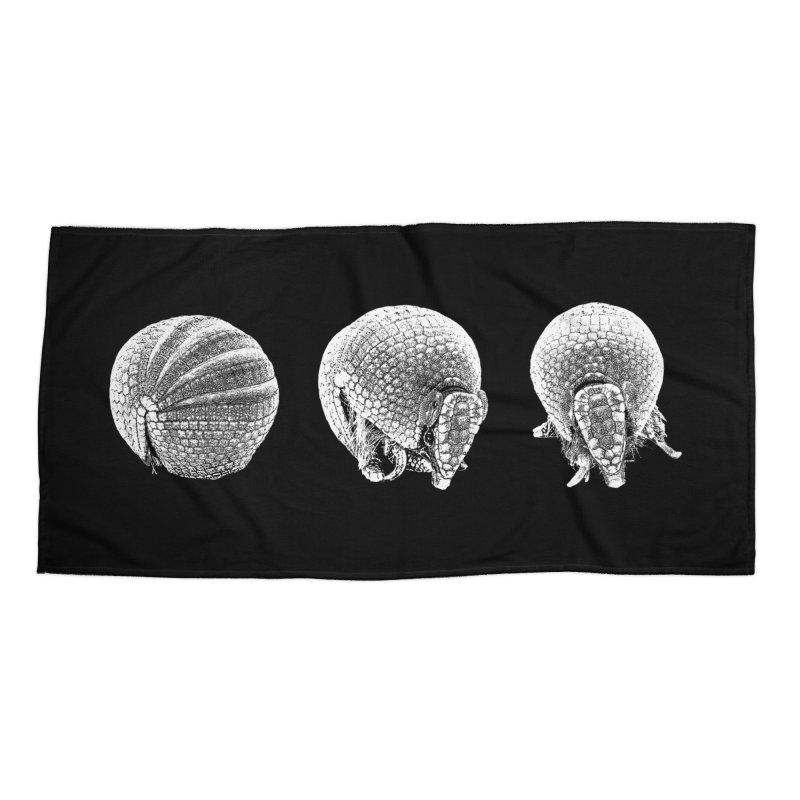 'Dillos Accessories Beach Towel by Gary Mc Alea Photography's Artist Shop