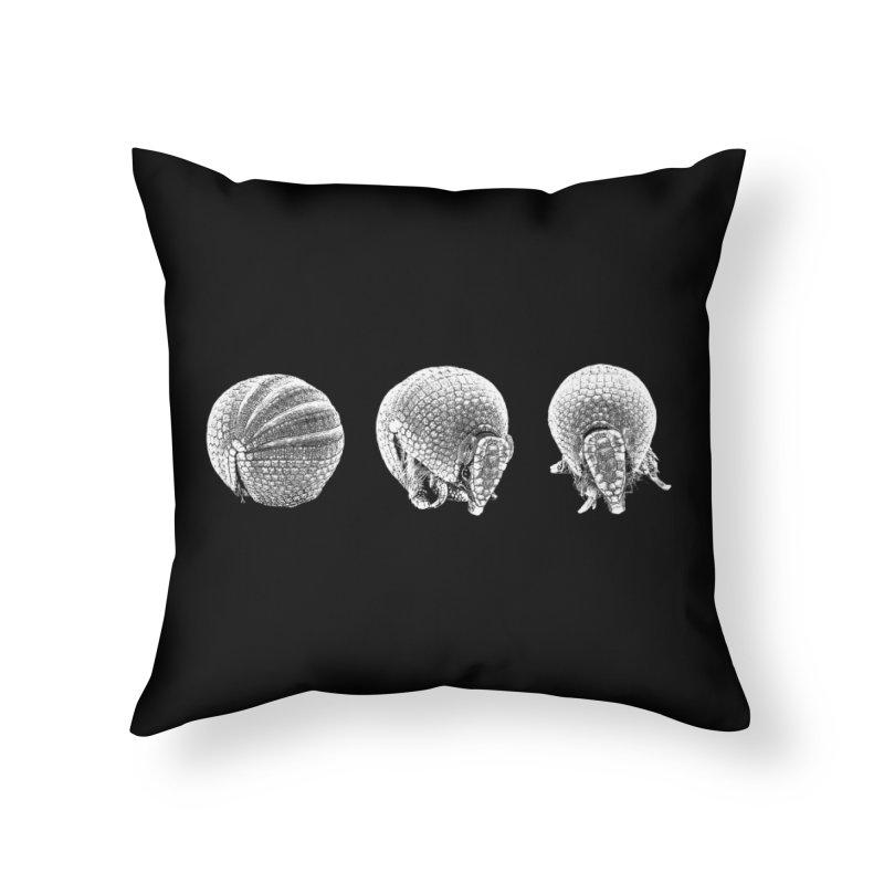 'Dillos Home Throw Pillow by Gary Mc Alea Photography's Artist Shop