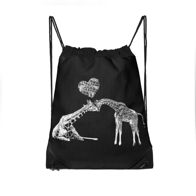 Mommy and Me - Giraffe Love Accessories Bag by Gary Mc Alea Photography's Artist Shop
