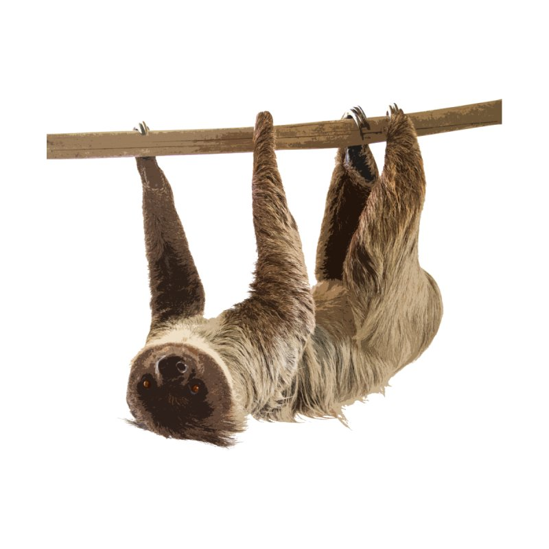 Hangin' With Sloth Men's T-Shirt by Gary Mc Alea Photography's Artist Shop