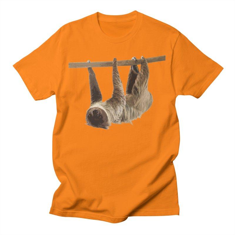 Hangin' With Sloth Men's T-Shirt by Gary Mc Alea Photography's Artist Shop