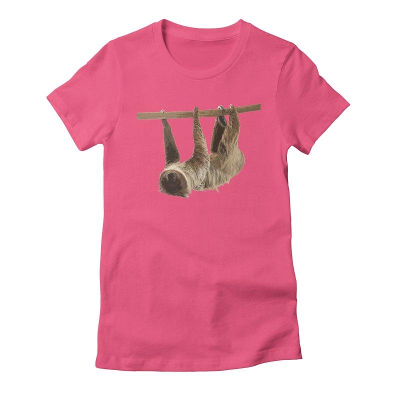 Hangin' With Sloth Women's T-Shirt by Gary Mc Alea Photography's Artist Shop