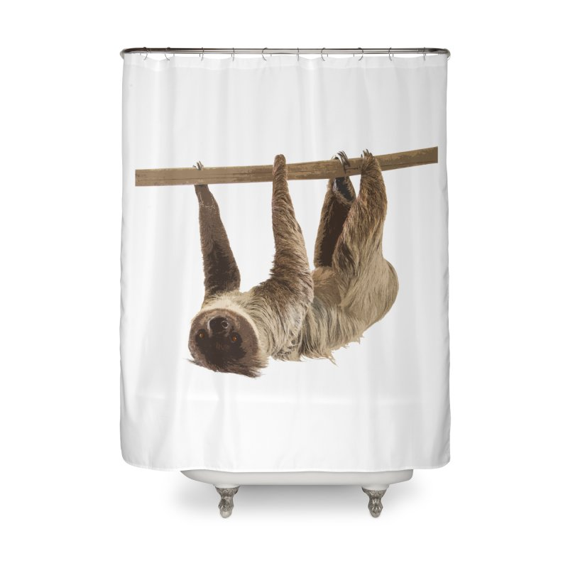 Hangin' With Sloth Home Shower Curtain by Gary Mc Alea Photography's Artist Shop