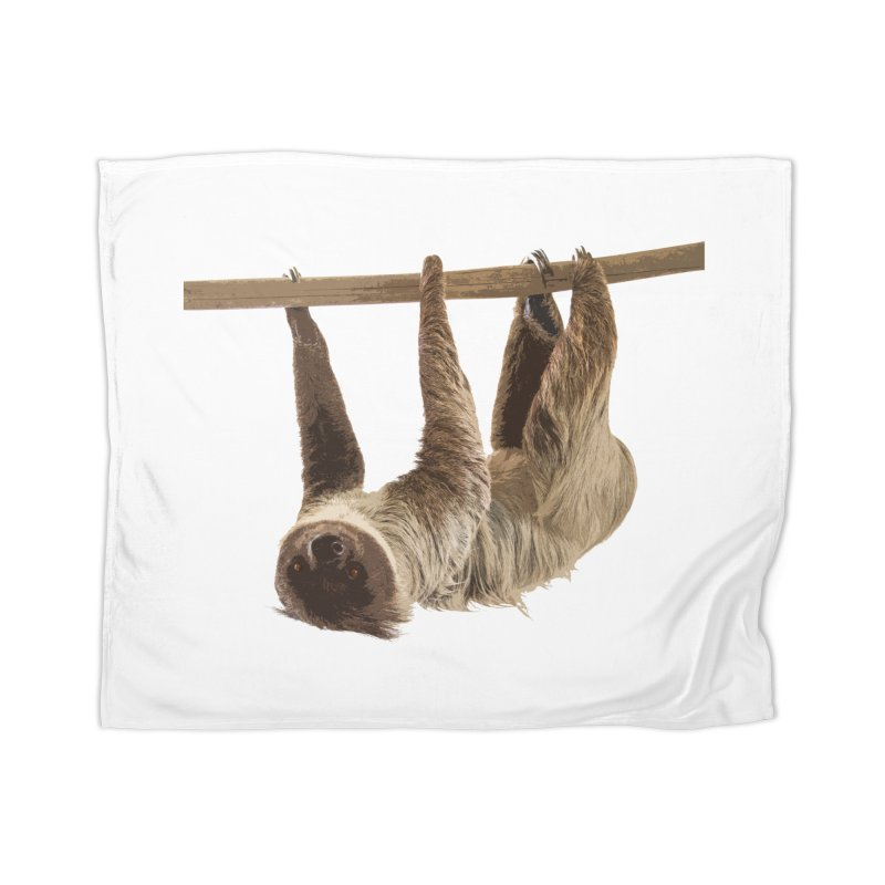 Hangin' With Sloth Home Blanket by Gary Mc Alea Photography's Artist Shop
