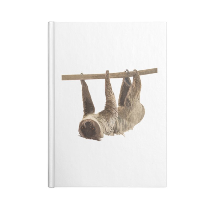 Hangin' With Sloth Accessories Notebook by Gary Mc Alea Photography's Artist Shop