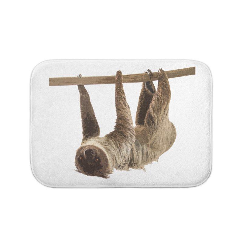 Hangin' With Sloth Home Bath Mat by Gary Mc Alea Photography's Artist Shop