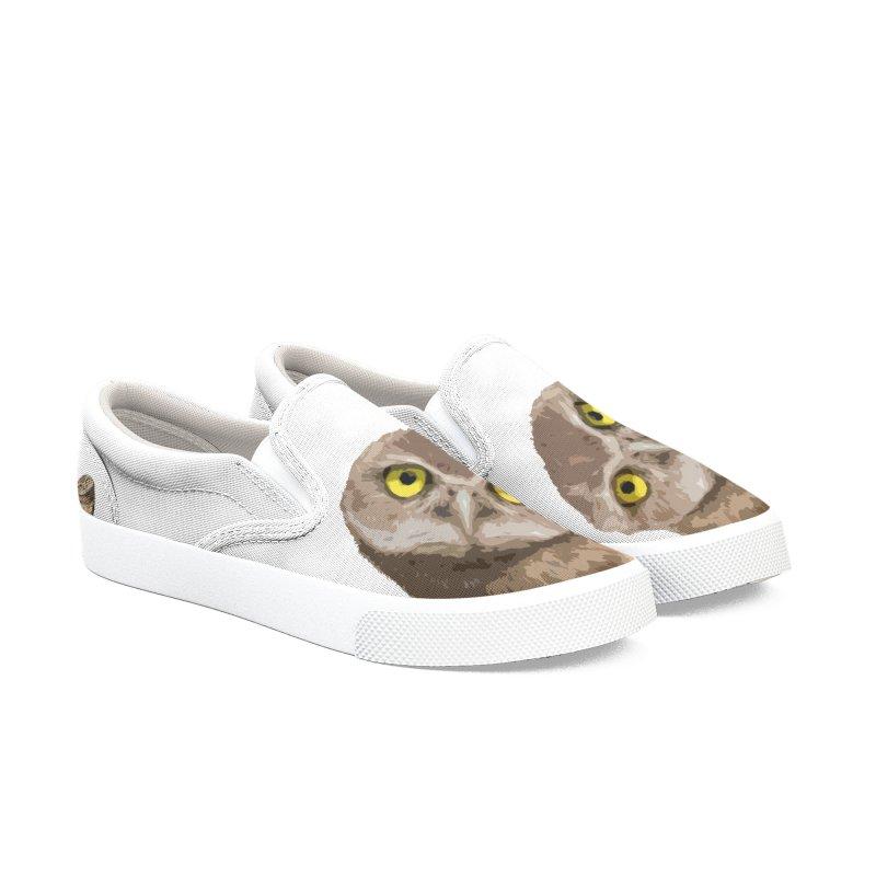 Burrowing Owl Men's Shoes by Gary Mc Alea Photography's Artist Shop