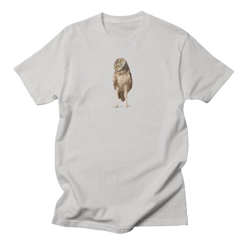 Burrowing Owl Men's T-Shirt by Gary Mc Alea Photography's Artist Shop