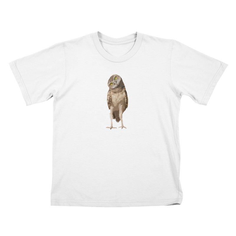 Burrowing Owl Kids T-Shirt by Gary Mc Alea Photography's Artist Shop