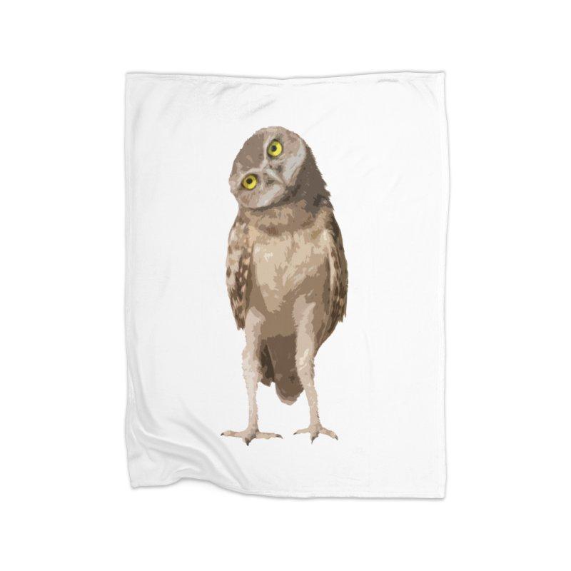 Burrowing Owl Home Blanket by Gary Mc Alea Photography's Artist Shop