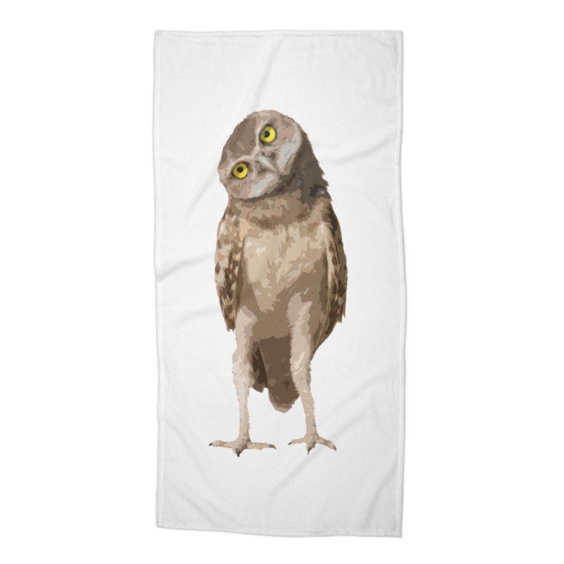Burrowing Owl Accessories Beach Towel by Gary Mc Alea Photography's Artist Shop