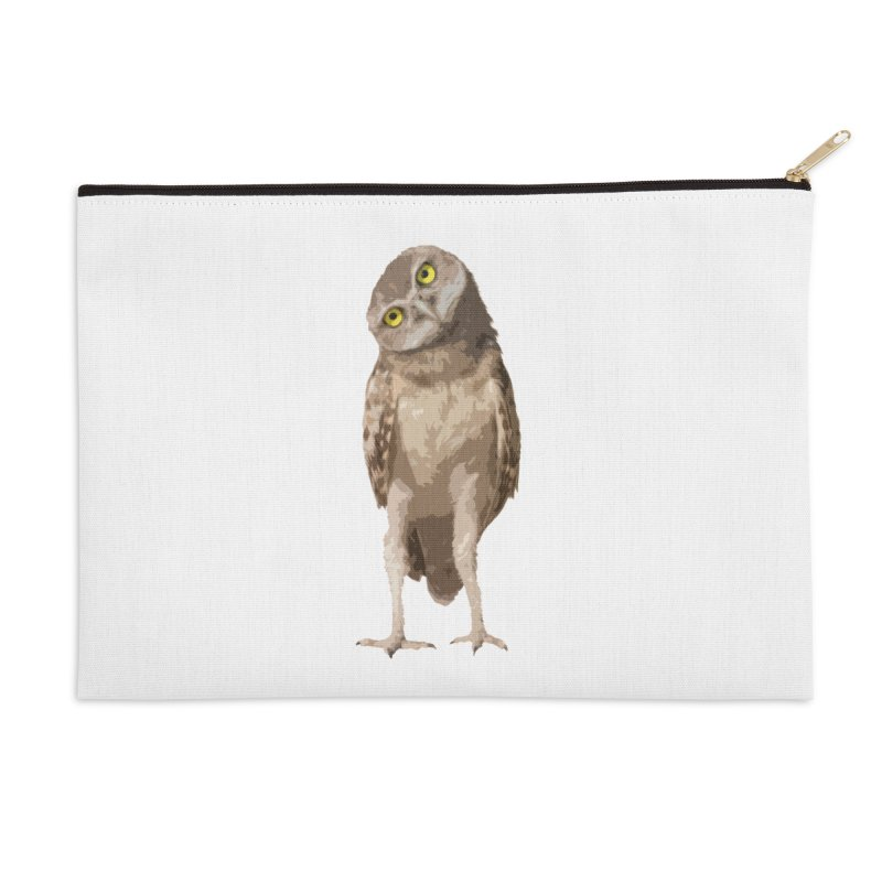 Burrowing Owl Accessories Zip Pouch by Gary Mc Alea Photography's Artist Shop