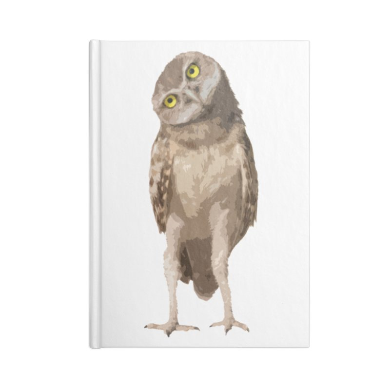 Burrowing Owl Accessories Notebook by Gary Mc Alea Photography's Artist Shop