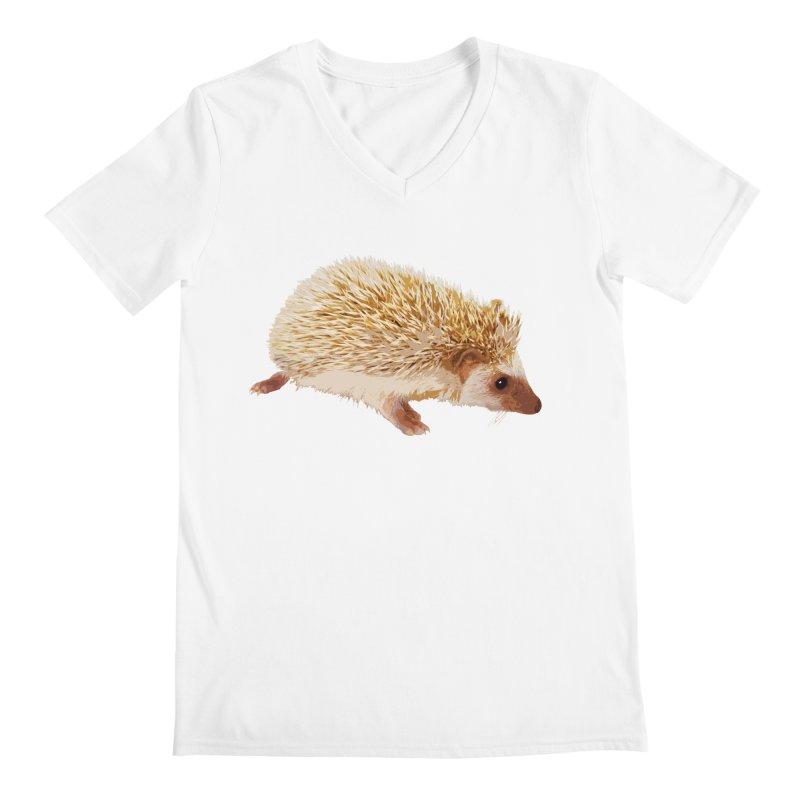 Hedgehog Men's V-Neck by Gary Mc Alea Photography's Artist Shop