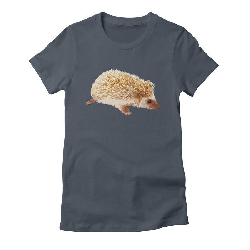 Hedgehog Women's T-Shirt by Gary Mc Alea Photography's Artist Shop