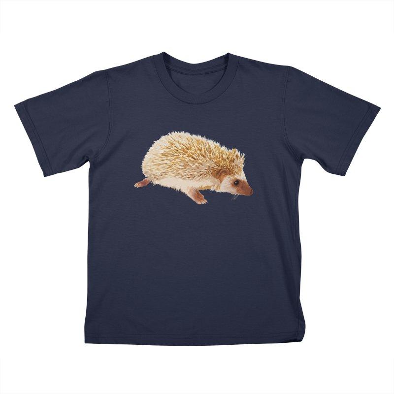 Hedgehog Kids T-Shirt by Gary Mc Alea Photography's Artist Shop