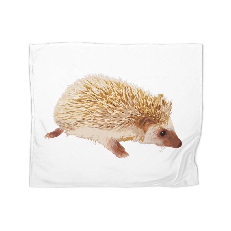 Hedgehog Home Blanket by Gary Mc Alea Photography's Artist Shop