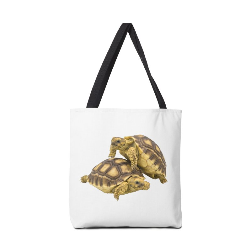African Spurred Tortoises Accessories Bag by Gary Mc Alea Photography's Artist Shop