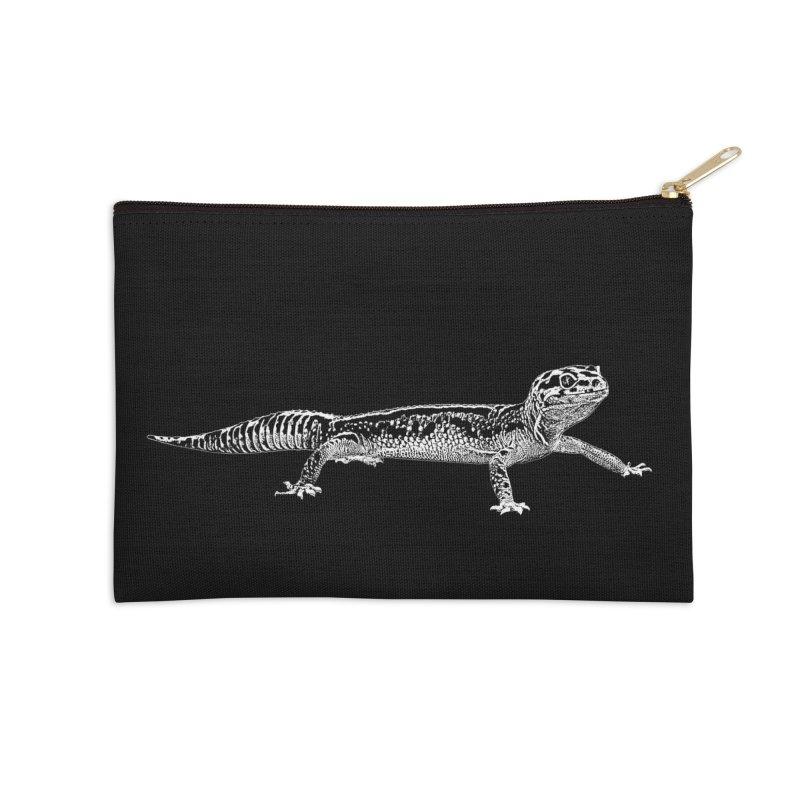 Leopard Gecko Accessories Zip Pouch by Gary Mc Alea Photography's Artist Shop
