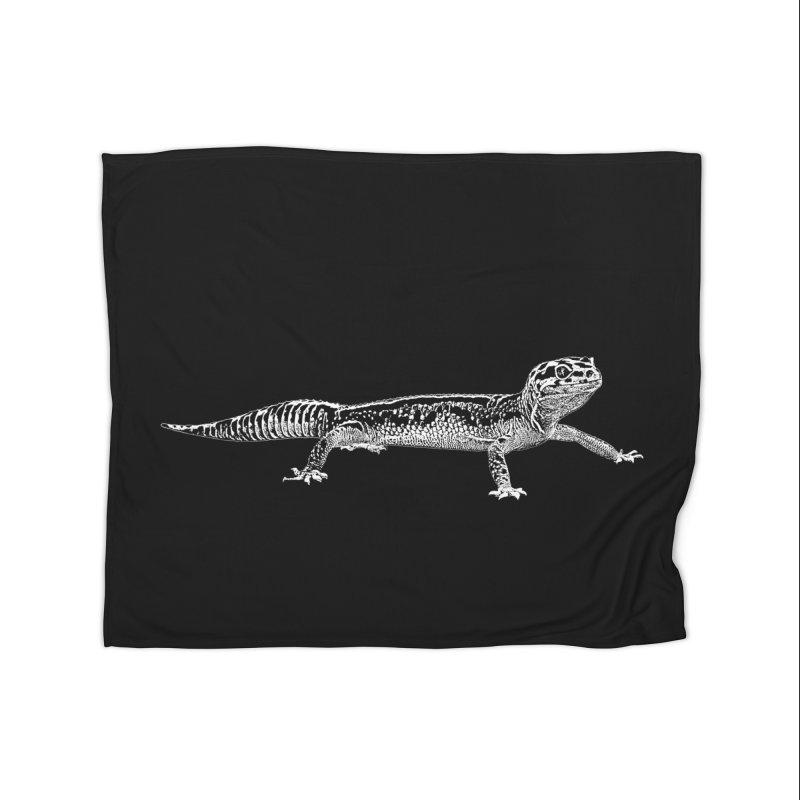 Leopard Gecko Home Blanket by Gary Mc Alea Photography's Artist Shop