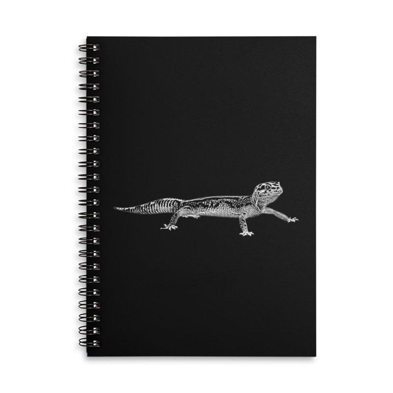 Leopard Gecko Accessories Notebook by Gary Mc Alea Photography's Artist Shop