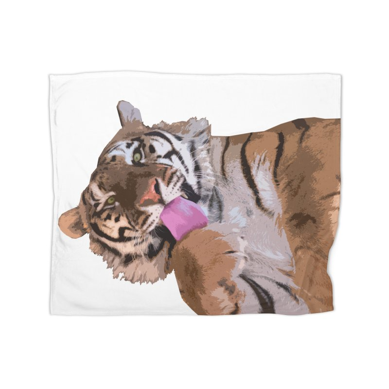 Tiger Home Blanket by Gary Mc Alea Photography's Artist Shop