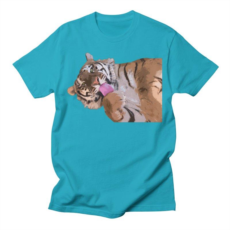 Tiger Men's T-Shirt by Gary Mc Alea Photography's Artist Shop