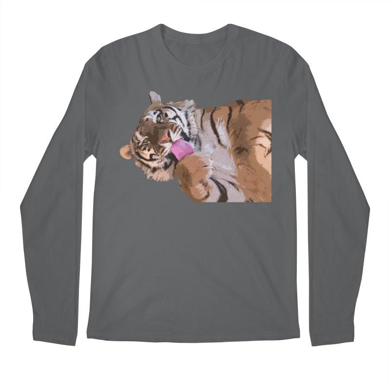 Tiger Men's Longsleeve T-Shirt by Gary Mc Alea Photography's Artist Shop