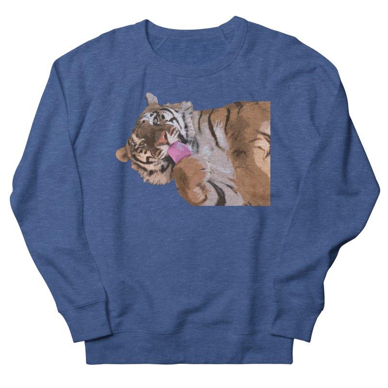 Tiger Men's Sweatshirt by Gary Mc Alea Photography's Artist Shop