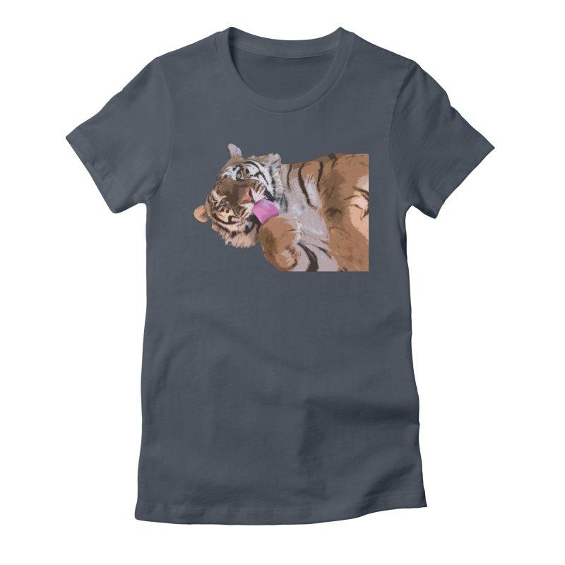 Tiger Women's T-Shirt by Gary Mc Alea Photography's Artist Shop