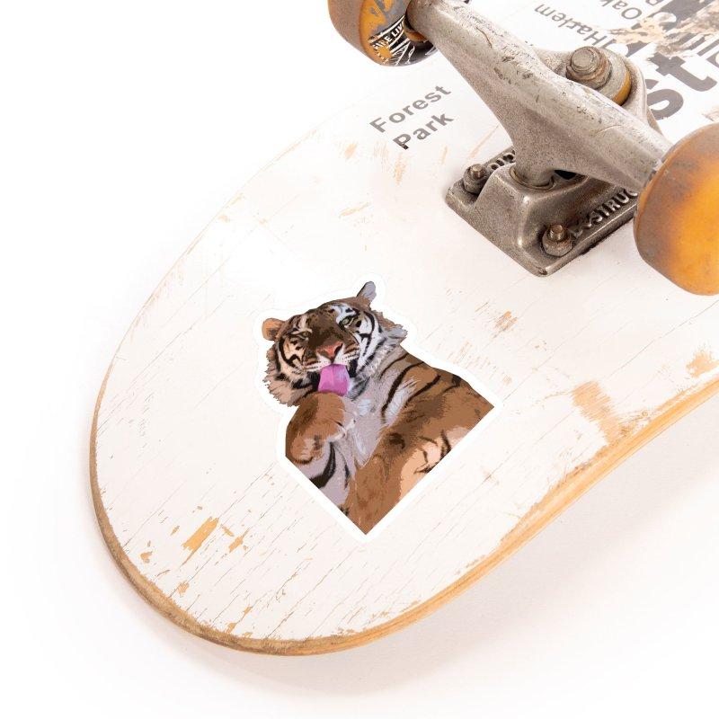 Tiger Accessories Sticker by Gary Mc Alea Photography's Artist Shop