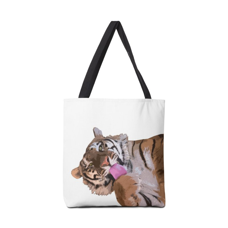 Tiger Accessories Bag by Gary Mc Alea Photography's Artist Shop