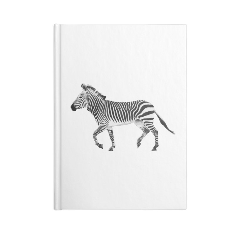 Zebra Accessories Notebook by Gary Mc Alea Photography's Artist Shop
