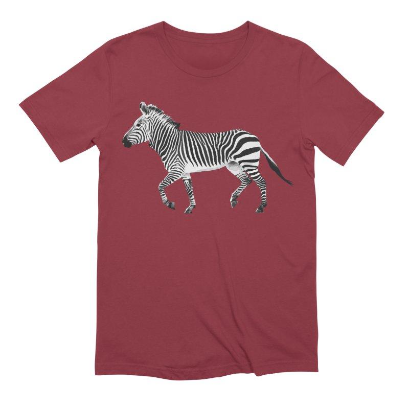 Zebra Men's T-Shirt by Gary Mc Alea Photography's Artist Shop