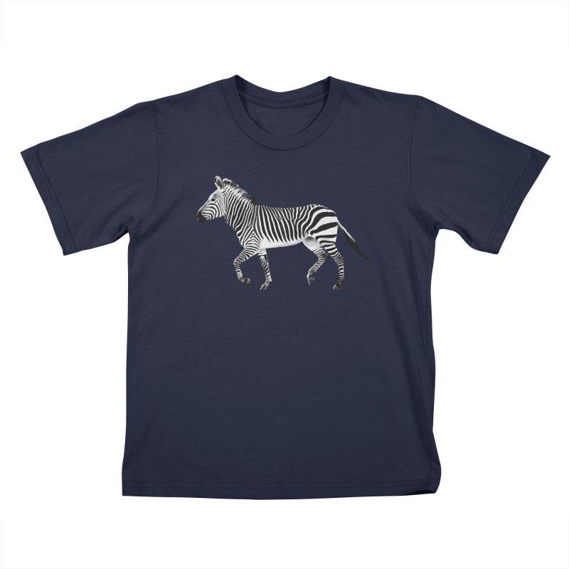 Zebra Kids T-Shirt by Gary Mc Alea Photography's Artist Shop