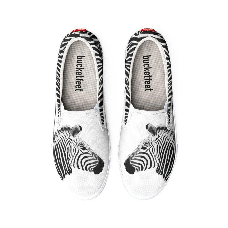 Zebra Men's Shoes by Gary Mc Alea Photography's Artist Shop