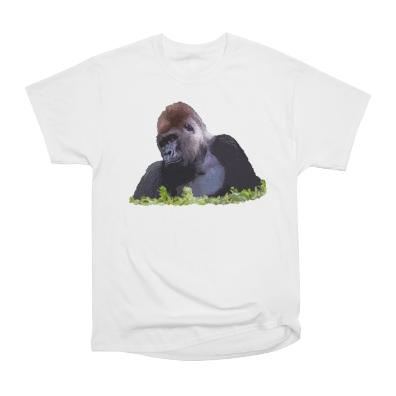 Silverback Gorilla Women's T-Shirt by Gary Mc Alea Photography's Artist Shop