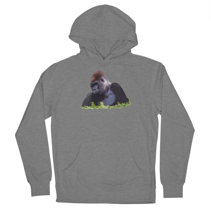 Silverback Gorilla Women's Pullover Hoody by Gary Mc Alea Photography's Artist Shop
