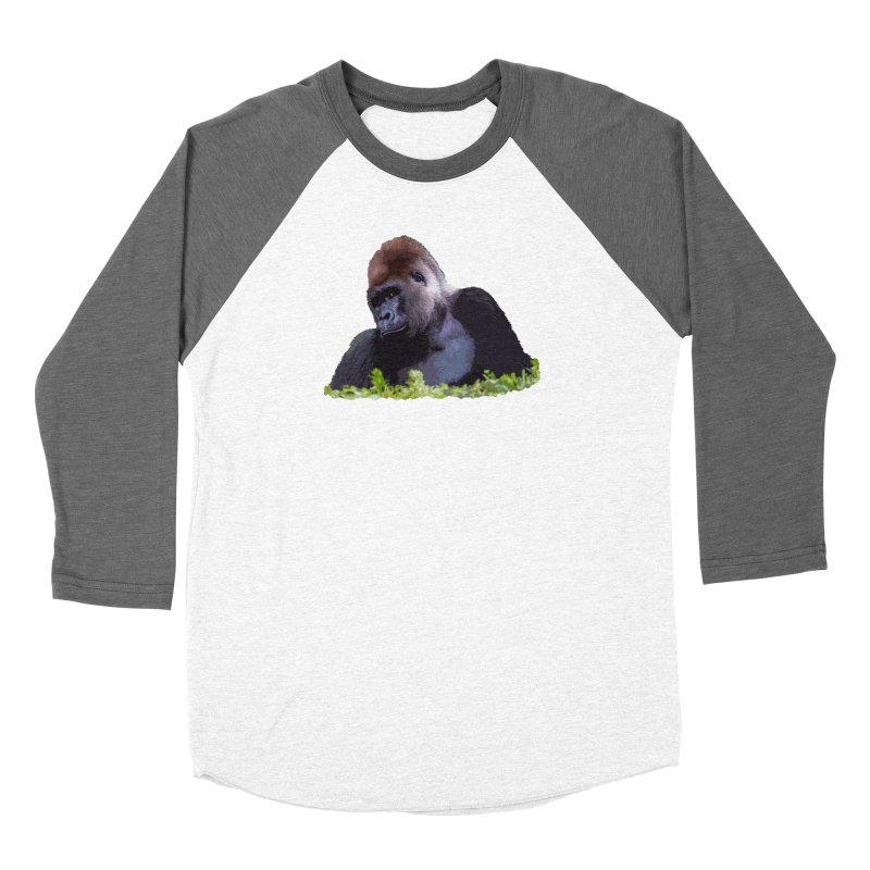 Silverback Gorilla Women's Longsleeve T-Shirt by Gary Mc Alea Photography's Artist Shop