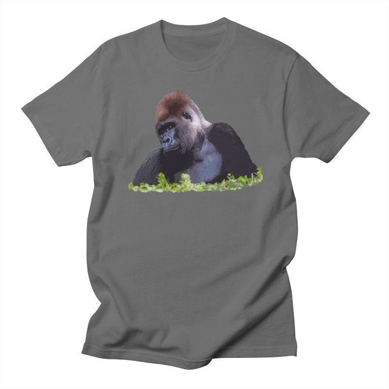Silverback Gorilla Men's T-Shirt by Gary Mc Alea Photography's Artist Shop