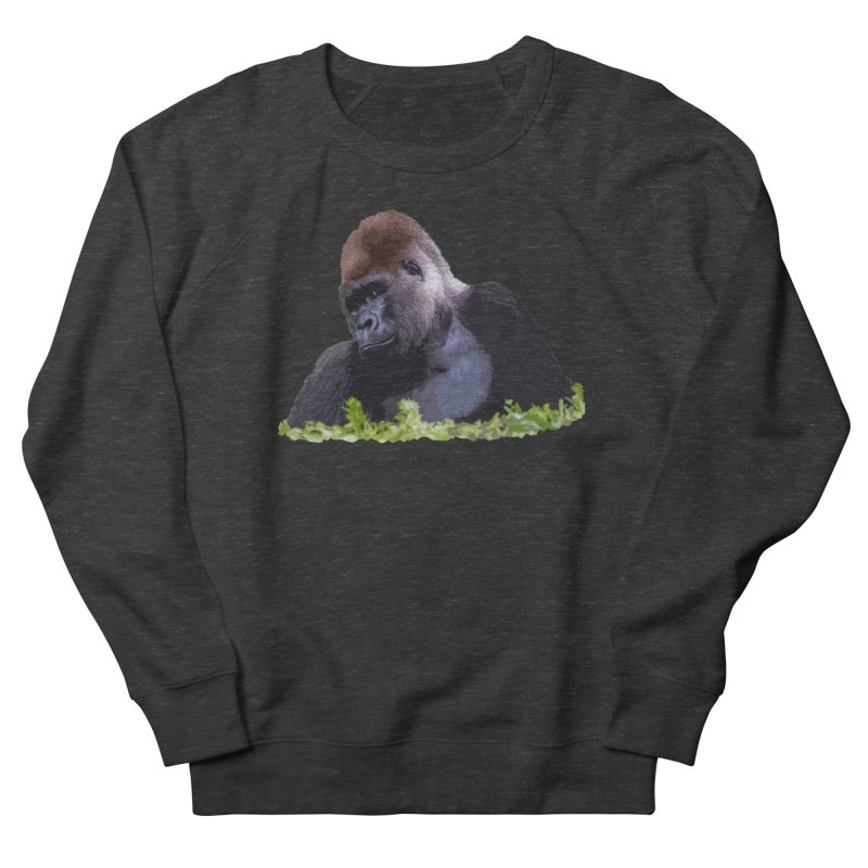 Silverback Gorilla Women's Sweatshirt by Gary Mc Alea Photography's Artist Shop