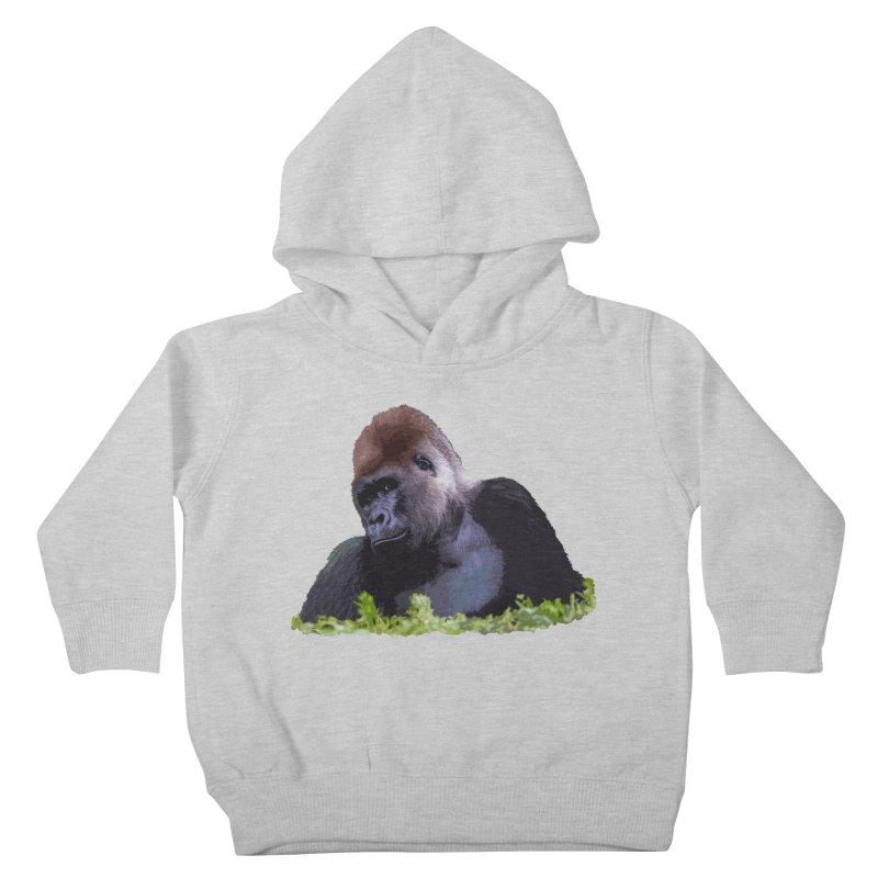 Silverback Gorilla Kids Toddler Pullover Hoody by Gary Mc Alea Photography's Artist Shop
